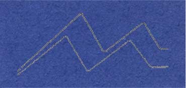 PASSE - PARTOUT ALMA CRUDA 1,2MM 60X80CM AZUL LAVANDA