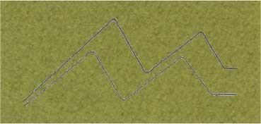 PASSE - PARTOUT ALMA CRUDA 1,2MM 60X80CM VERDE OLIVA