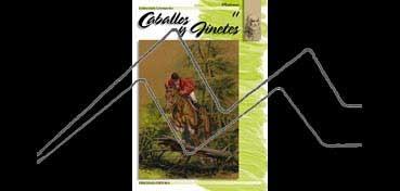 LIBROS DE TÉCNICAS ARTÍSTICAS LEONARDO Nº 11 CABALLO Y JINETES