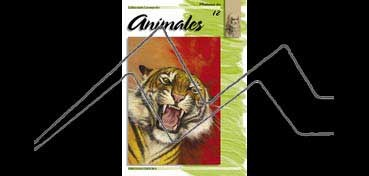 LIBROS DE TÉCNICAS ARTÍSTICAS LEONARDO Nº 12 ANIMALES