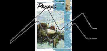 LIBROS DE TÉCNICAS ARTÍSTICAS LEONARDO Nº 18 PAISAJES