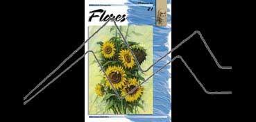 LIBROS DE TÉCNICAS ARTÍSTICAS LEONARDO Nº 21 FLORES