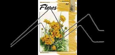 LIBROS DE TÉCNICAS ARTÍSTICAS LEONARDO Nº 22 FLORES