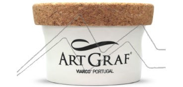 ARTGRAF Nº1 PASTA DE GRAFITO MOLDEABLE SOLUBLE EN AGUA EN TARRO DE PORCELANA
