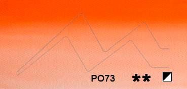WINSOR & NEWTON ACUARELA ARTISTS NARANJA WINSOR SOMBRA ROJA (WINSOR ORANGE RED SHADE) SERIE 1 Nº 723