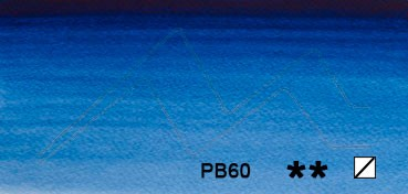 WINSOR & NEWTON ACUARELA ARTISTS AZUL INDANTRONA (INDANTHRENE BLUE) SERIE 3 Nº 321