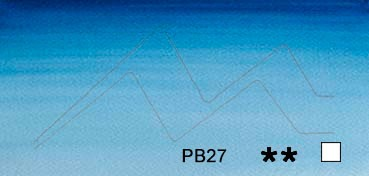 WINSOR & NEWTON ACUARELA ARTISTS AZUL AMBERES (ANTWERP BLUE) SERIE 1 Nº 010