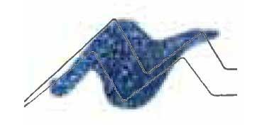 TULIP 3D PAINT AZUL / GLITTER BLUE