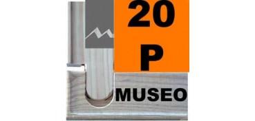 BASTIDOR MUSEO (ANCHO DE LISTÓN 60 X 22) 73 X 54 20P