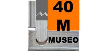 BASTIDOR MUSEO (ANCHO DE LISTÓN 60 X 22) 100 X 65 40M