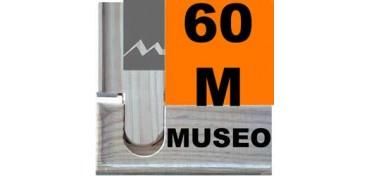 BASTIDOR MUSEO (ANCHO DE LISTÓN 60 X 22) 130 X 81 60M