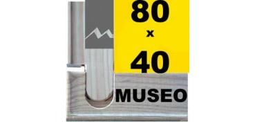 BASTIDOR MUSEO (ANCHO DE LISTÓN 60 X 22) 80 X 40