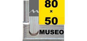 BASTIDOR MUSEO (ANCHO DE LISTÓN 60 X 22) 80 X 50