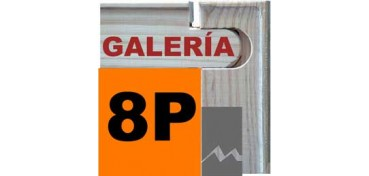 BASTIDOR GALERÍA 3D (ANCHO DE LISTÓN 46 X 32) 46 X 33 8P