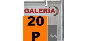 BASTIDOR GALERÍA 3D (ANCHO DE LISTÓN 46 X 32) 73 X 54 20P