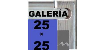 BASTIDOR GALERÍA 3D (ANCHO DE LISTÓN 46 X 32) 25 X 25