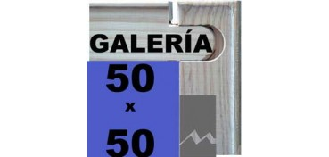 BASTIDOR GALERÍA 3D (ANCHO DE LISTÓN 46 X 32) 50 X 50