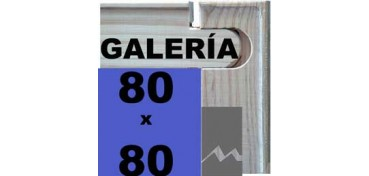 BASTIDOR GALERÍA 3D (ANCHO DE LISTÓN 46 X 32) 80 X 80