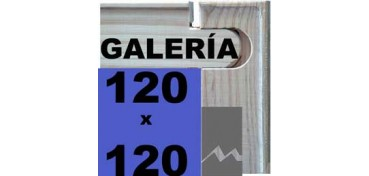 BASTIDOR GALERÍA 3D (ANCHO DE LISTÓN 46 X 32) 120 X 120