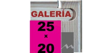 BASTIDOR GALERÍA 3D (ANCHO DE LISTÓN 46 X 32) 25 X 20