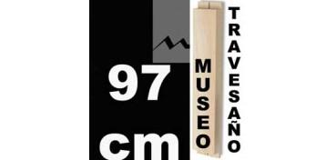 TRAVESAÑO MUSEO (60 X 22) - 97 CM