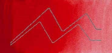 MIJELLO ACUARELA ARTIST MISSION GOLD CLASS ROJO PERMANENTE - PERMANENT RED ( PR112 - LF.5 -  TRANSPARENTE) SERIE C Nº 511