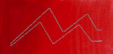 MIJELLO ACUARELA ARTIST MISSION GOLD CLASS ROJO OSCURO PERMANENTE - PERMANENT RED DEEP ( PR254 - LF.5 -  TRANSPARENTE) SERIE B Nº 574