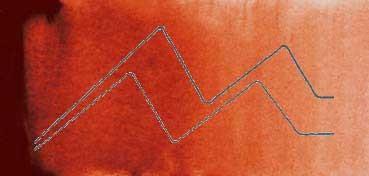 MIJELLO ACUARELA ARTIST MISSION GOLD CLASS ROJO CLARO - LIGHT RED ( PBR25, PR112, PY150 - LF.5 -  SEMI TRANSPARENTE) SERIE B Nº 562