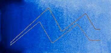 MIJELLO ACUARELA ARTIST MISSION GOLD CLASS ULTRAMAR OSCURO - ULTRAMARINE DEEP ( PB29, PV15 - LF.5 -  SEMI TRANSPARENTE) SERIE B Nº 545