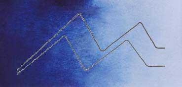 MIJELLO ACUARELA ARTIST MISSION GOLD CLASS AZUL INDANTRONA - INDANTHRONE BLUE ( PB60 - LF.5 -  SEMI TRANSPARENTE) SERIE E Nº 610