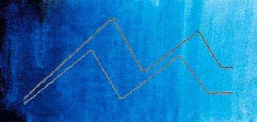 MIJELLO ACUARELA ARTIST MISSION GOLD CLASS AZUL CERÚLEO - CERULEAN BLUE ( PB15:3 - LF.5 -  SEMI TRANSPARENTE) SERIE C Nº 541