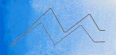 MIJELLO ACUARELA ARTIST MISSION GOLD CLASS AZUL VERDITER - VERDITER BLUE ( PB28, PW6 - LF.5 -  SEMI TRANSPARENTE) SERIE B Nº 578