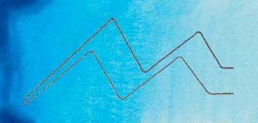 MIJELLO ACUARELA ARTIST MISSION GOLD CLASS AZUL MANGANESO - MANGANESE BLUE ( PB15:3, PW6 - LF.5 -  SEMI OPACO) SERIE A Nº 548