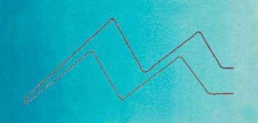 MIJELLO ACUARELA ARTIST MISSION GOLD CLASS AZUL HORIZONTE - HORIZON BLUE ( PB15:3, PY3, PW6 - LF.4 -  SEMI TRANSPARENTE) SERIE B Nº 579