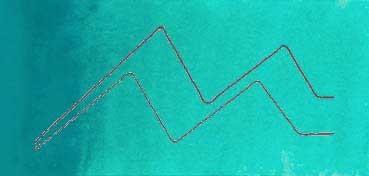MIJELLO ACUARELA ARTIST MISSION GOLD CLASS AZUL COMPUESTO - COMPOSE BLUE ( PG36, PB15:3, PW6 - LF.5 -  SEMI TRANSPARENTE) SERIE A Nº 530