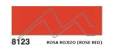 JAVANA PINTURA PARA SEDA ROSA ROJIZO (ROSE RED) RFA.K8123