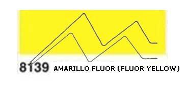 JAVANA PINTURA PARA SEDA AMARILLO FLUOR (FLUOR YELLOW) RFA.K8139