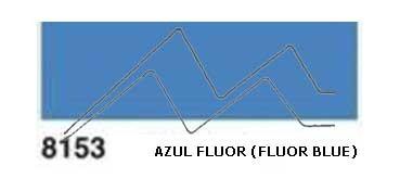JAVANA PINTURA PARA SEDA AZUL FLUOR (FLUOR BLUE) RFA.K8153