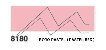 JAVANA PINTURA PARA SEDA ROJO PASTEL (PASTEL RED) RFA.K8180