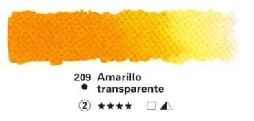 HORADAM GODET COMPLETO 209 AMARILLO TRANSPARENTE S2