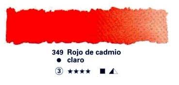 HORADAM GODET COMPLETO 349 ROJO CADMIO CLARO S3