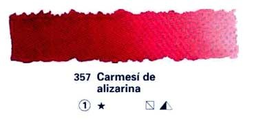 HORADAM GODET COMPLETO 357 CARMESÍ DE ALIZARINA S1