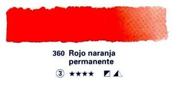 HORADAM GODET COMPLETO 360 ROJO NARANJA PERMANENTE S3
