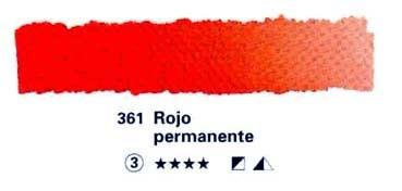 HORADAM GODET COMPLETO 361 ROJO PERMANENTE S3