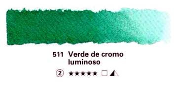 HORADAM GODET COMPLETO 511 VERDE DE CROMO LUMINOSO S2