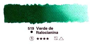 HORADAM GODET COMPLETO 519 VERDE FTALOCIANINA S1