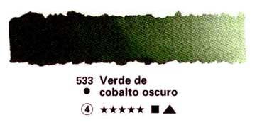 HORADAM GODET COMPLETO 533 VERDE DE COBALTO OSCURO S4