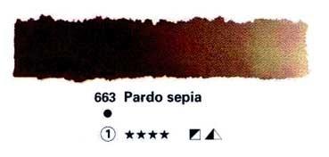 HORADAM GODET COMPLETO 663 PARDO SEPIA S1