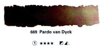 HORADAM GODET COMPLETO 669 PARDO VAN DYCK S1
