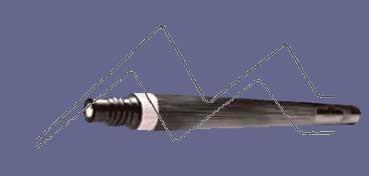 PENTEL COLOUR BRUSH PINCEL NYLON RECARGABLE TINTA AZUL ACERO (FR-117) - RECAMBIO